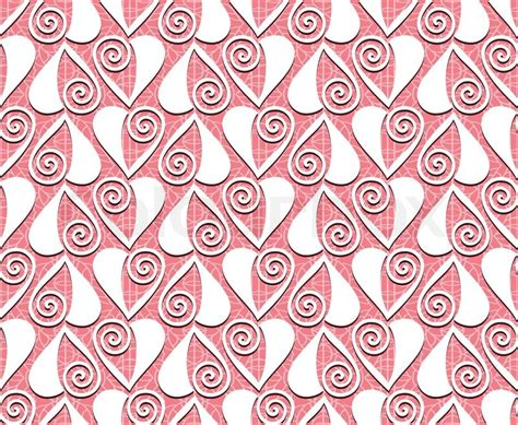 fabric pattern love seamless lace valentines day heart love pattern for use