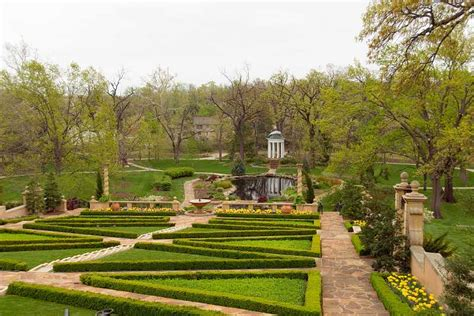 Garden Tulsa Ok by Gardens Of Tulsa Ok 17a 0008 Philbrook Museum And Gardens