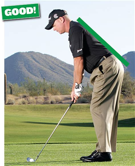 posture in golf swing posture perfection golf tips magazine