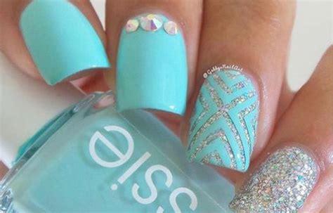 imagenes de uñas decoradas color turquesa u 241 as decoradas sencillas pero bonitas u 241 asdecoradas club
