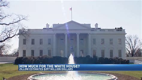 How Much Is The White House Worth by Zillow Estimates Worth Of White House Wwmt