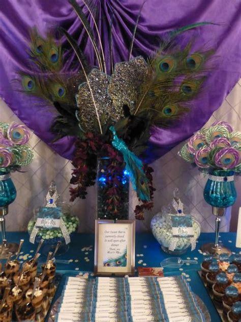 peacock buffet peacock wedding ideas wedding events wedding and