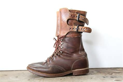 ww2 jump boots ww2 vintage paratrooper jump boots style