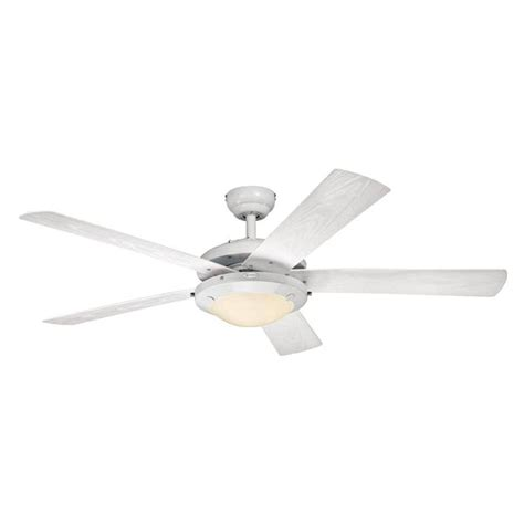 westinghouse ceiling fan light westinghouse 72008 52 quot five blade indoor outdoor ceiling