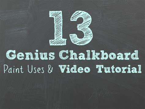 chalkboard paint tutorial 13 genius chalkboard paint ideas tutorial