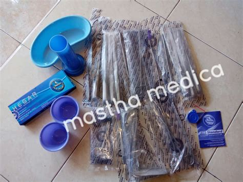 Partus Set Renz Surgical Instrument Kit jual beli renz surgical instrument kit curettage set