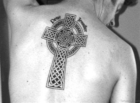 celtic cross back tattoo 71 stylish celtic tattoos for back