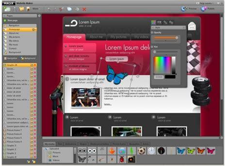 website maker magix website maker free and software reviews