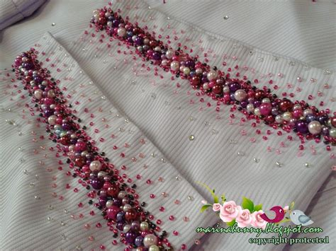 beads pattern for baju kurung baju kurung cream pearl manik bead google search