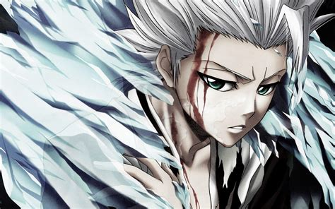 bleach full hd toshiro hitsugaya wallpapers wallpaper cave