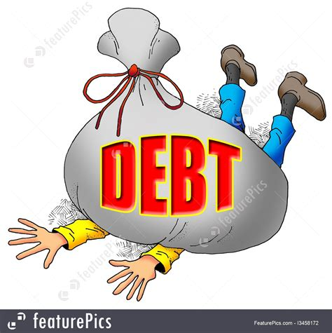 how much debt is too much to buy a house business situations too much debt stock illustration i3458172 at featurepics
