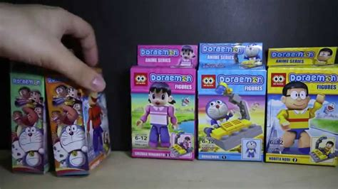 Lego Loz Doraemon Mini Blocks lego kre o doraemon mx block bootleg review