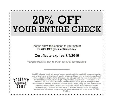 Bonefish Grill Gift Card Walgreens - coupons bonefish grill fire it up grill