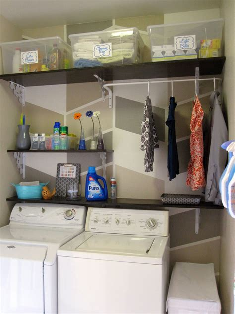 Laundry Room In Garage Decorating Ideas Remodelaholic Laundry Room Makeover With Personalized
