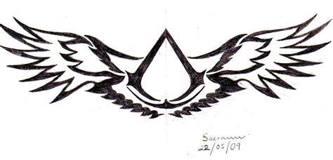 Assassin Logo Tattoo | assassins creed symbol cake ideas and designs