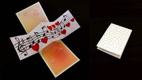 pop and twist card template twist and pop card pop up card by template