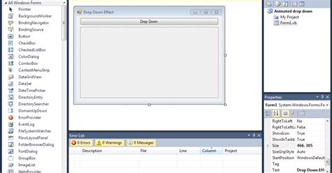 yii2 tutorial drop down how to make a drop down effect in vb net ultimate