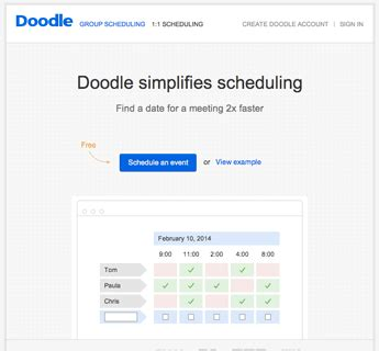 doodle poll add participants doodle reviews edshelf