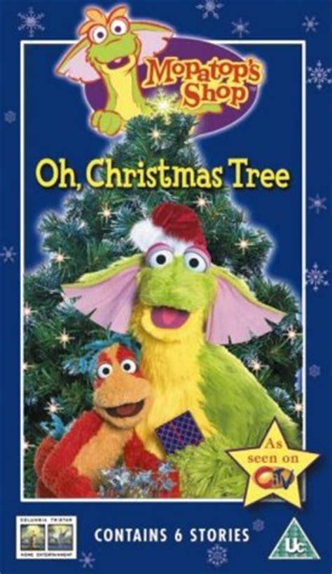 o christmas tree dvd kidviduk mopatop shop mopatop s shop oh tree vhs
