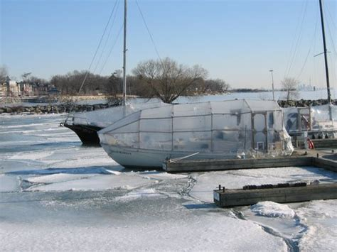 living on a boat in winter about we live on a boat