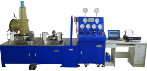 pressure safety valve test bench the relief valve check table