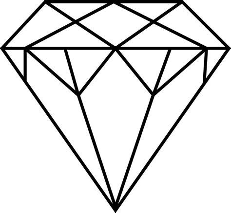 printable jewel shapes diamond shape clipart jewel diamond shape colouring page