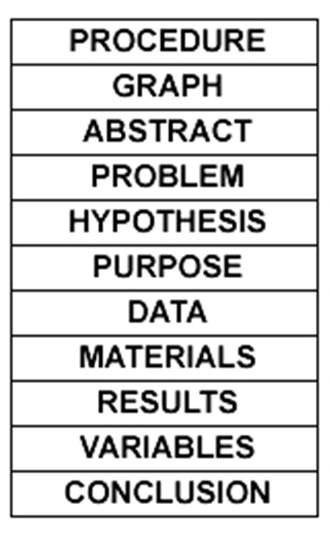 science fair labels templates gallery of printable science fair board labels science