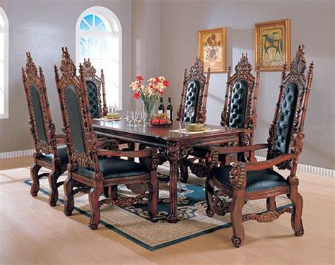 best of medieval style dining room table light of dining gothic dining set google search dream home pinterest
