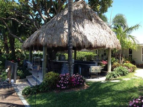 Backyard Tiki Hut Tropical Outdoor Tiki Hut Gallery Backyard Tiki Hut
