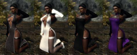 skyrim cbbe dress neo oriental dress retextured at skyrim nexus mods and
