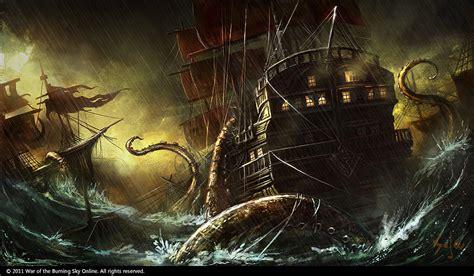 concept design vs illustration kraken concept by bpsola on deviantart