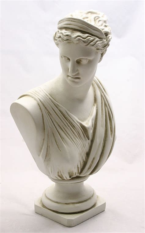 busts of ancient greeks romans and statues for sale diana artemis of versailles statue bust greek goddesses
