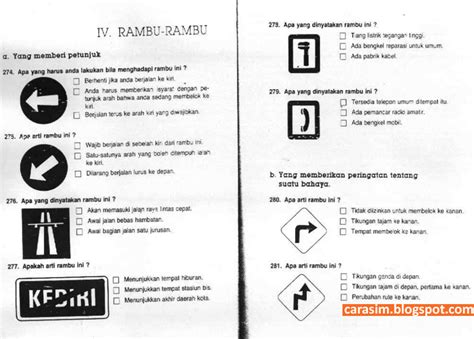 cara membuat sim online semarang soal ujian sim c dan jawaban cara membuat sim