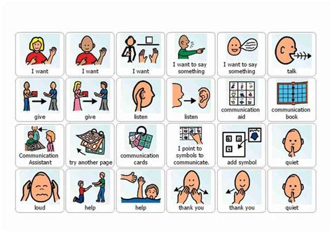 cue cards speech for pd template visual cue cards for use with autistic children printable