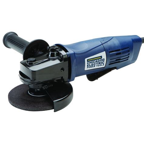 4 1 2 In Angle Grinder With Paddle Switch