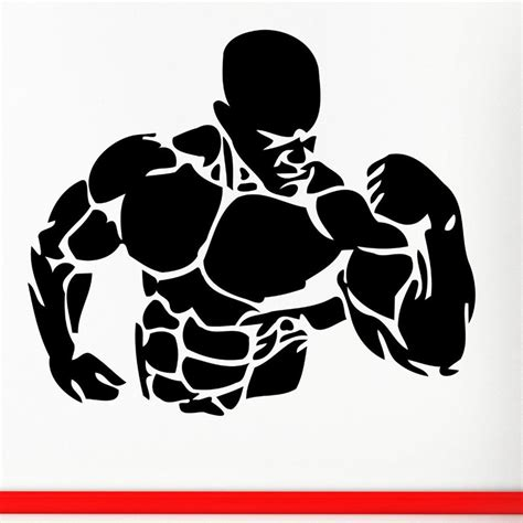 Best Stores To Buy Home Decor by Gym Sticker Fitness Decal Bodybuilding Posters Name Muscle