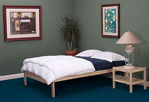 nomad bed frame nomad solid hardwood platform bed frame queen size