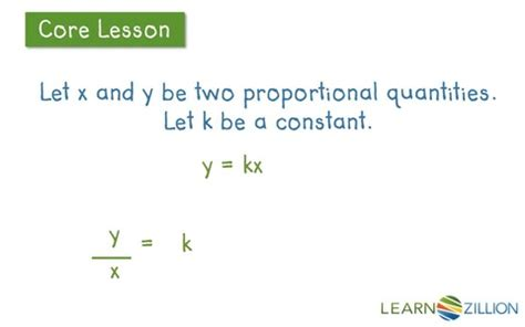 determining proportionality with tables lesson 10 understand proportional relationships ready