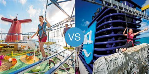 norwegian cruise vs carnival carnival vs norwegian smackdown