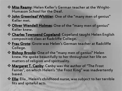 biography of helen keller in summary summary of the story of my life helen keller