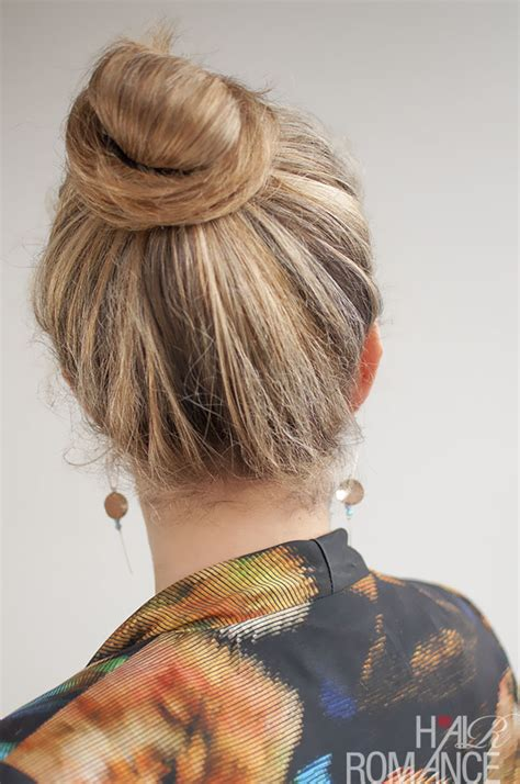 knot hair styles 30 buns in 30 days day 20 top knot bun hair romance