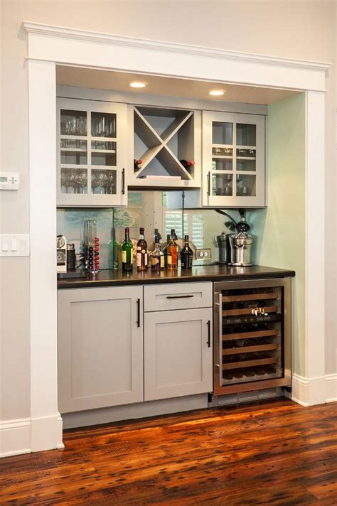 Built In Bar Cabinets 25 Best Ideas About Closet Bar On Wood Walls Farm Style Kitchen Shelves And Rustic