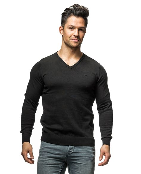 Tom Tailor basic v neck tom tailor 3578 sleeves jerone