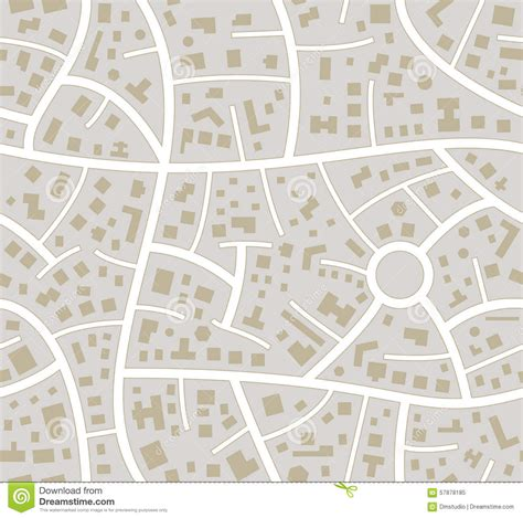 seamless map pattern vector seamless road city map stock vector image 57878185