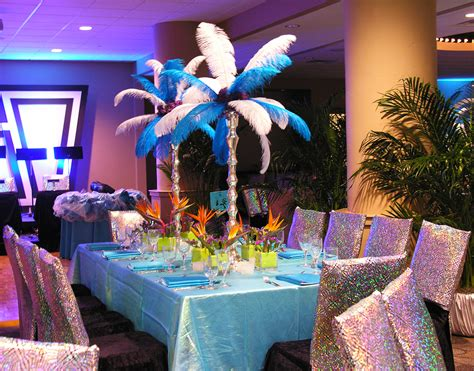 carnival themes brazil brazilian carnival theme party blue feathers sparkle