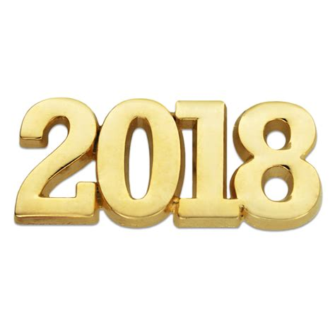 new year 2018 number pinmart s gold year 2018 school graduation new years