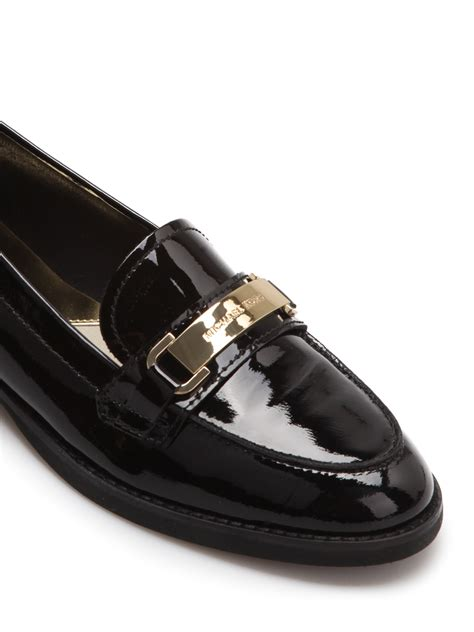 patent loafer patent leather loafer by michael kors loafers slippers