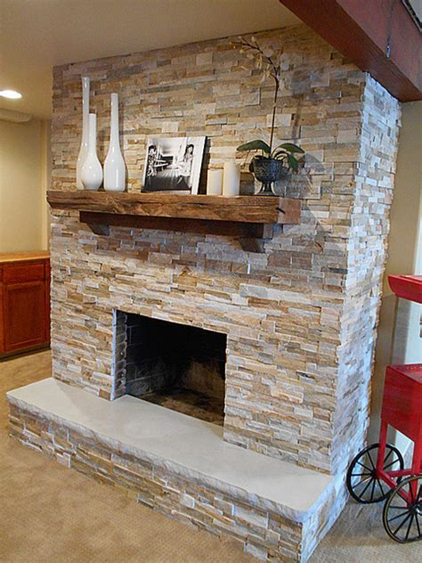 fireplace hearth 7 with split edge detail indoor