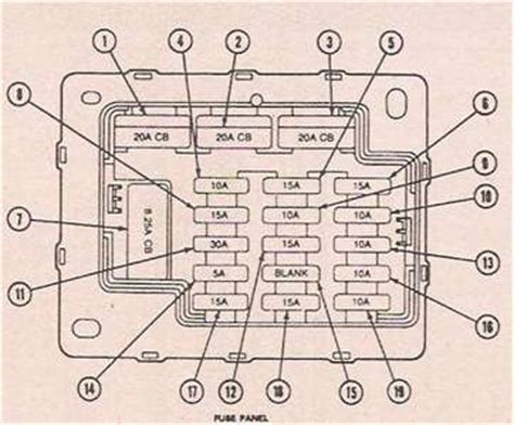 1964 thunderbird fuse box diagram fixya