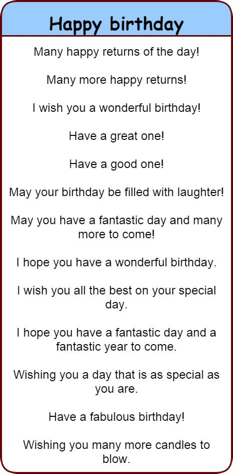 Ways To Wish Happy Birthday On Fun And Different Ways To Wish People Happy Birthday In